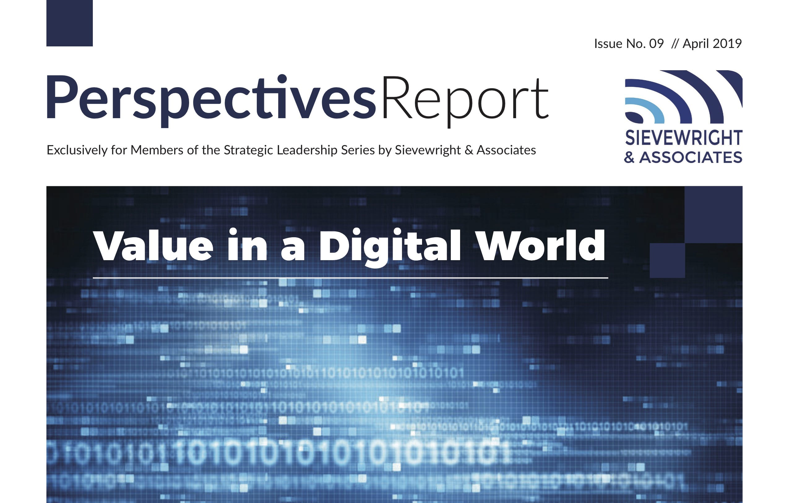 Perspectives Report Cover Image April 2019